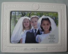 ENESCO FIRST  COMMUNION PICTURE FRAME146311   IN WHITE GIFT BOX
