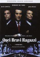 Dvd QUEI BRAVI RAGAZZI - (1990) *** Robert De Niro *** ......NUOVO