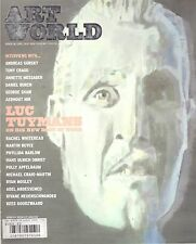 ART WORLD ISSUE 10 2009 LUC TUYMANS BUREN + PARIS POSTER GUIDE English