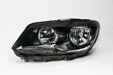 VW Touran 10-15 Twin Reflector Headlight Headlamp Left Passenger Near Side N/S