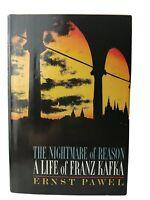 THE NIGHTMARE OF REASON: A Life of Franz Kafka 1984 1st Print Vintage HCDJ