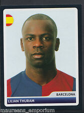 Panini Football Sticker-Champions League 2006-07 - No 8 - Barcelona - Thuram