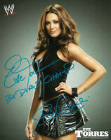 WWE EVE HAND SIGNED AUTOGRAPHED 8X10 PROMO PHOTO WITH PROOF AND COA 13
