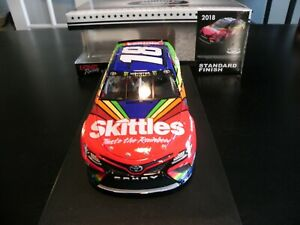 KYLE BUSCH 2018 DARLINGTON THROWBACK SKITTLES  #18 1/24 SCALE DIECAST RARE!