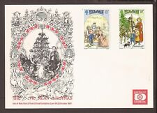 Isle of man 1987. Hafnia Stamp Exhibition (unfranked) with stamps. Denmark