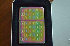 ZIPPO Lighter, 20751 - Playboy Multi-Monogram, Spectrum, 2004, Sealed, M883