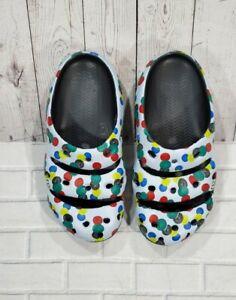 Keen Yogui Arts Sync Dots Clog Outdoor Sandal Slip On Shoe 1022265 MENS SIZE 8