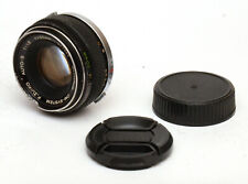 Olympus F. Zuiko Auto-S 50mm F1.8 Lens For Olympus OM Mount! Good Condition!