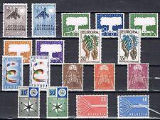 Europa CEPT year set 1957 Complete jaargang - MNH  Cataloguswaarde € 242
