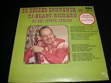 "TI-BLANC RICHARD<>20 SUCCES SOUVENIR<>SEALED 12"" Lp Vinyl~Canada Pressing~"