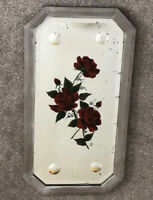 1930s wall mirror Art Deco Painted Mirror Vintage Antique Distressed 1920s