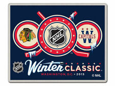 Official NHL 2015 Winter Classic Pin Chicago Blackhawks vs Washington Capitals