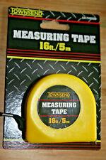 16 ft 5 mm Measuring Tape Carpenter Measure Tool Retracting Ruler Thumb Lock