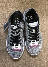 LA GEAR Women's Candy Live Active  Shoes Black/Gray Memory Foam Ladies Size 7 M