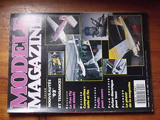 $$3 Revue modele magazine N°498 Plan encarte Pitchou  Fun Fly  composites