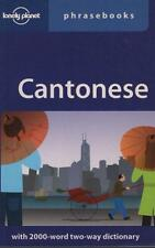 CANTONESE PHRASEBOOK CHINESE - WITH TWO-WAY DICTIONARY LONELY PLANET EXCEL USED