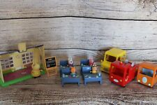 Peppa Pig Bundle School Figures and Cars Set