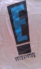 Vintage Rare E! Entertainment Television Network Promo T Shirt 90s Original