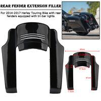 5'' Kotflügelverlängerung Hinten Rear Fender Extension für Harley Touring  14-17