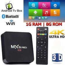 MXQ PRO Android 7.1 4K Smart TV Box S905W Quad Core 1GB 8GB WiFi Media Player