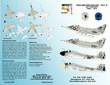 Impact Decals 48-005 VMA / VMA(aw)-225 Pt.2 A-4B & A-4C Skyhawks & A-6A Intruder