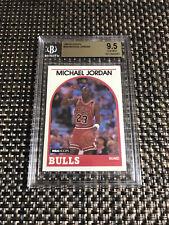 1989-90 HOOPS #200 MICHAEL JORDAN BULLS BGS 9.5 GEM MINT