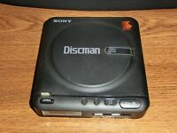 Vintage SONY Discman D-20 Portable Disc Player Walkman (Not Working Properly)