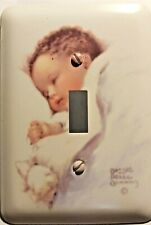 Bessie Pease Gutmann Baby Room Nursery Light Switch Plate Cover