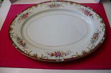 MZ ALTROHLAU CZECHOSLOVAKIA  Rose Floral Pattern Platter  Vintage