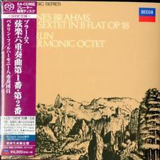 BERLIN PHILHARMONIC OCTET-BRAHMS: SIXTET 1&2-JAPAN MINI LP SHM-SACD Ltd/Ed K29