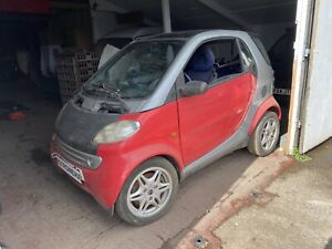 2000 Smart Car City coupe C450 LHD 599cc 3X Wheel Nuts* BREAKING WHOLE VEHICLE*