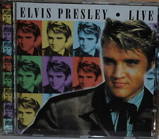Elvis Presley Live 2000 Legacy UK CD