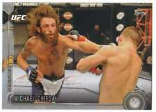 2015 Topps UFC Chronicles Silver Parallel #167 Michael Chiesa