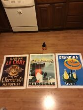 3 Made In France Posters- 2 Editions Clouet -