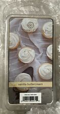 2 COLONIAL CANDLE VANILLA BUTTERCREAM MELTS 6 Per PACKAGE - 12 Total