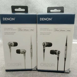 Denon AH-C620R In-Ear Headphones with Remote and Microphone for iOS devices
