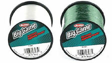 Berkley Trilene Big Game Fishing Monofilament Mono Green & Clear Fishing Line