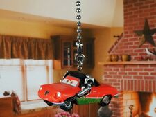 DISNEY CARS Crew Giuseppe Motorosi Ceiling Fan Pull Light Lamp Chain K1093 J