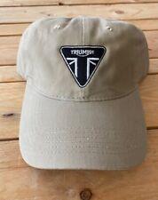 Vintage TRIUMPH Triangle  Motorcycle logo hat