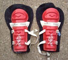 "Cooper Weeks Vintage Hockey Shin Pads ~ 11"" Made In Canada DG33 33"