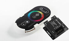 WIRELESS RF Dimmer Controllo Touch REMOTE CONTROLLER PER RGB LED STRISCIA 18 bis * NUOVA