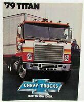 1979 Chevrolet Titan Truck Sales Brochure