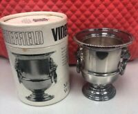 Viners of Sheffield England Miniature Silver Plate Wine Cooler- 1969- Vintage