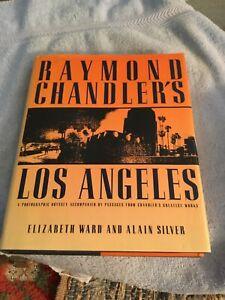 Raymond Chandler's Los Angeles by Elizabeth Ward (1987) HCDJ