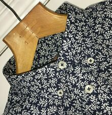 BEN SHERMAN BUTTON DOWN LONG SLEEVE HERITAGE FLORAL PRINT SHIRT MEDIUM
