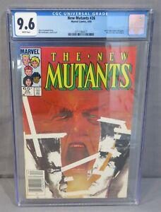 THE NEW MUTANTS #26 (Legion 1st app, Newsstand UPC) CGC 9.6 NM+ Marvel 1985