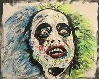 Beetlejuice Michael Keaton Tim Burton Movie Cult Film Colorful Movie Horror Film
