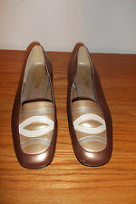 California Magdesians Women's Leather Heel Pumps Shoes Size 8M