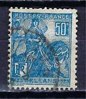 France 1929 Jeanne d'Arc (1) Yvert n° 257 oblitéré 1er choix