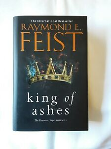 THE FIREMANE SAGA #1 : King Of Ashes By Raymond E. Feist (2018) Large Hardcover